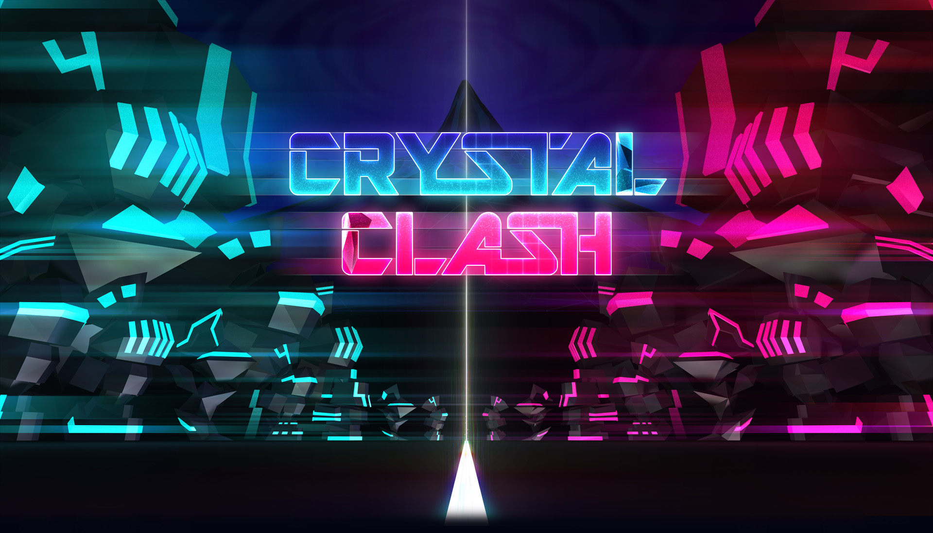 Crystal Clash Title