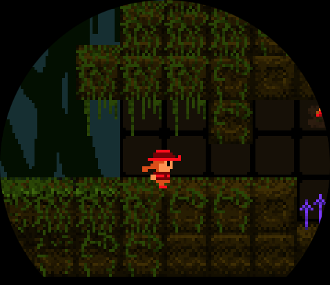 Screenshot of current game under development